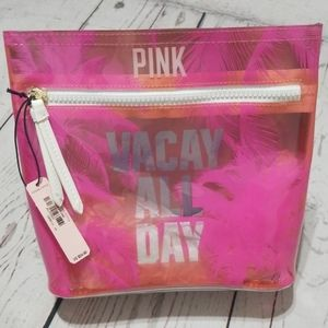 Vacay All Day PINK Pouch